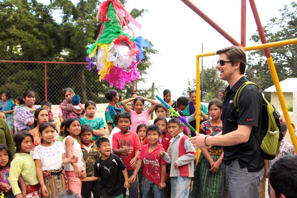 Christmas activity at Vuelta Grande School